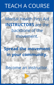 teach Mental Health First Aid