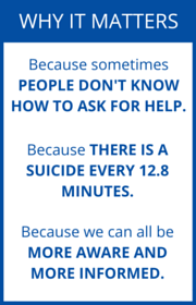 Mental Health First Aid matters