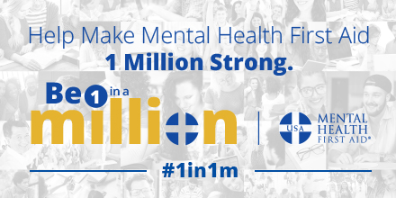 Be 1 In A Million Mental Health First Aid