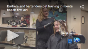 barbers and bartenders mental health first aid