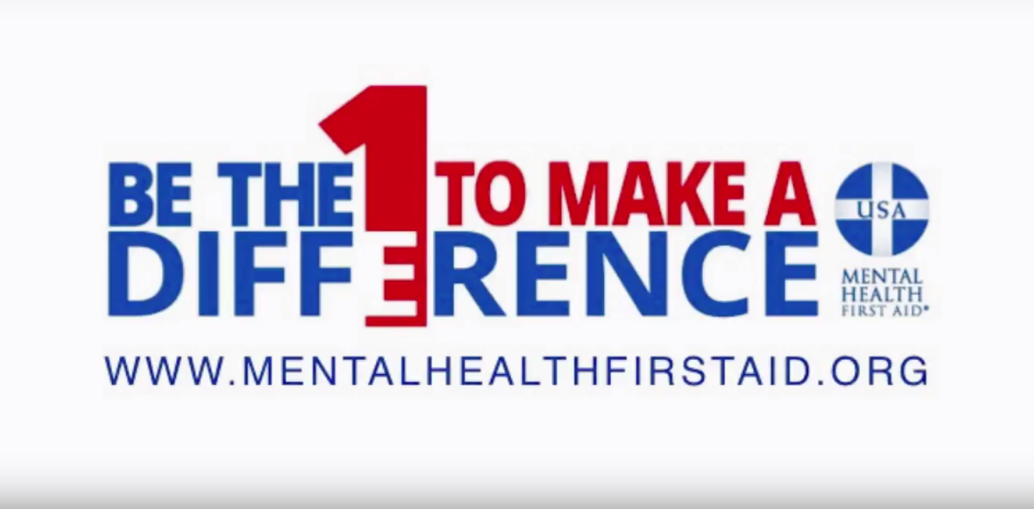 Be The Difference Mental Health First Aid