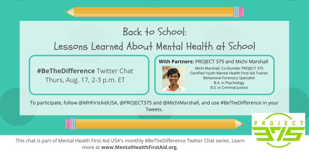 Btd Chat P375 Michi Update Mental Health First Aid