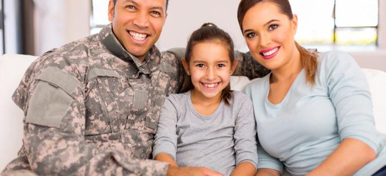 veteran's family