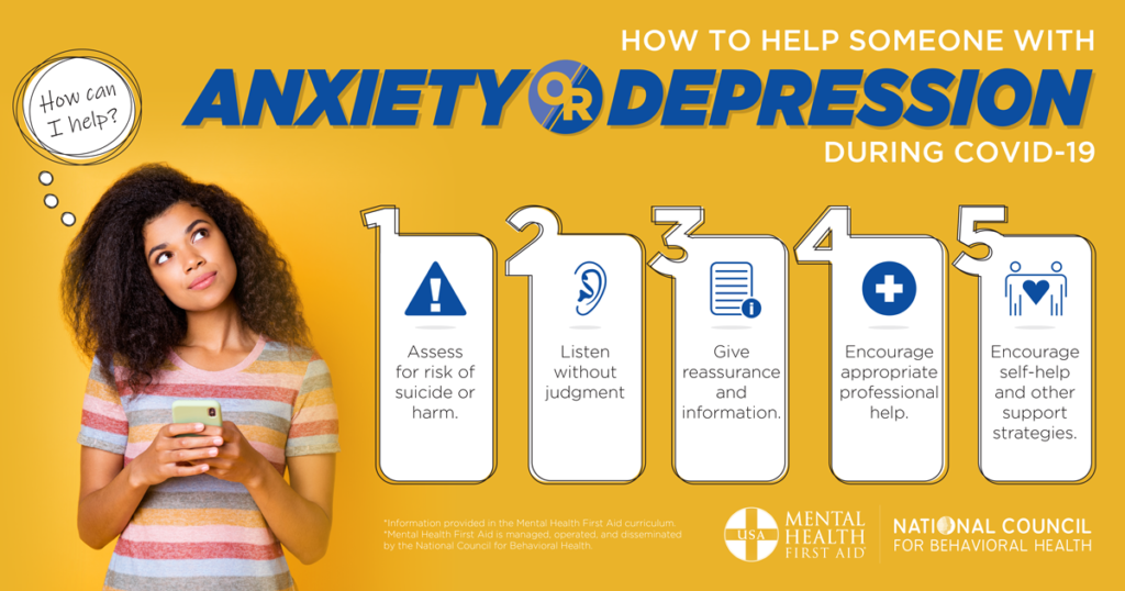 How to Help Someone with Anxiety or Depression During ...